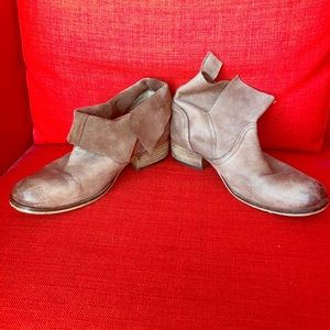 Urban Outfitters leather ankle booties